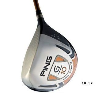 Ping G10 Driver (Right, Graphite, Senior, 10.5 Degrees) : Sports & Outdoors