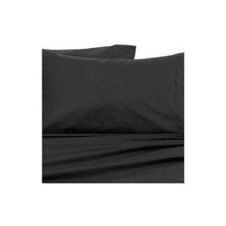 METRO 500 Thread Count Duvet Cover Solid Queen   Black