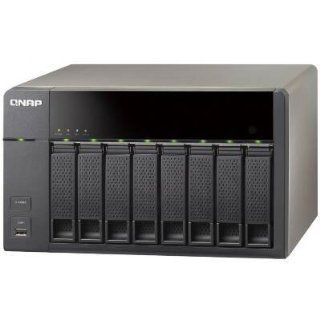QNAP TS 869L US 8Bay Intel D2700 2.13GHz Dual Core CPU 1GB SATA NAS: Computers & Accessories