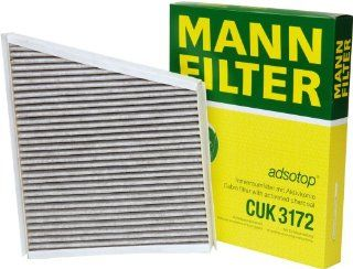 Mann Filter CUK 3172 Cabin Filter With Activated Charcoal for select  Mercedes Benz models: Automotive