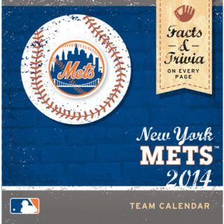 2014 New York Mets Box Calendar
