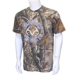 NCAA Realtree Ap Camouflage T Shirt With Antler Logo (Oklahoma Sooners, Small) : Sports Fan T Shirts : Sports & Outdoors