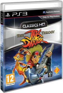The Jak and Daxter Trilogy: HD Classics      PS3