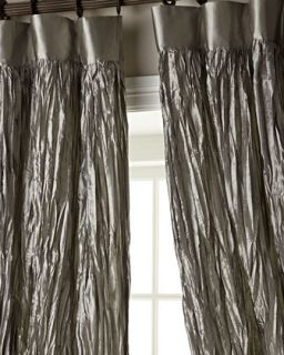 Each 54W x 96L Crushed Silk Curtain   Dian Austin Couture Home