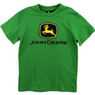 "John Deere ""Classic Logo"" Green T Shirt 4 14: Fashion T Shirts: Clothing"