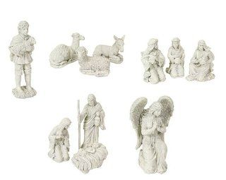 11 Piece Winter Solace Large Religious Christmas Nativity Statue Set   Nativity Figurine Sets