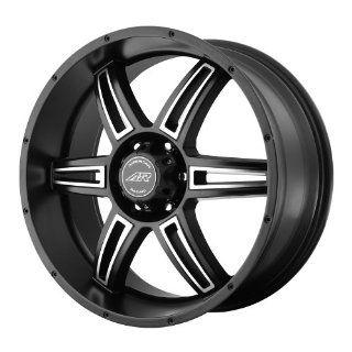 "American Racing AR890 Wheel with Satin Black Machined (18""x8""/5x5.5"") Automotive"