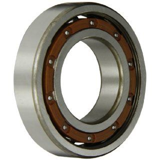 FAG 6209TB P63 Radial Bearing, Single Row, ABEC 3 Precision, Open, Polyamide/Nylon Cage, C3 Clearance, Metric, 45mm ID, 85mm OD, 19mm Width, 4550lbf Static Load Capacity, 6950lbf Dynamic Load Capacity: Deep Groove Ball Bearings: Industrial & Scientific