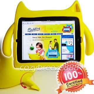 Ndevr iPadding Gremlin Apple iPad 2/3/4 Kids Play Case in Yellow (Lightweight, Kid Safe EVA Foam, Shock Absorbing, Free Standing, Sound Booster) Computers & Accessories