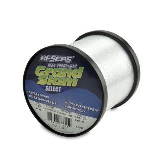 Hi Seas Grand Slam Select 1 Pound Spool 100 Percent Copolymer Line, Fluorescent Clear Blue : Fishing Line Spooling Accessories : Sports & Outdoors
