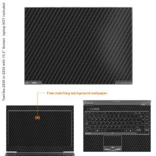 "Decalrus   Matte Decal Skin Sticker for Toshiba Portege Z935 with 13.3"" screen (NOTES view IDENTIFY image for correct model) case cover MAT Z935 195 Computers & Accessories"