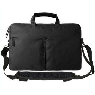 Rasfox ESPRESSO Shoulder Messenger Case Bag With Handles For 14 15 Inch Acer Aspire, Toshiba Portege Satellite Tecra, HP Pavilion Spectre ENVY EliteBook Folio, Dell XPS Inspiron Alienware, Sony Vaio, Lenovo ThinkPad ideapa, Aus Eee PC and more Computers &