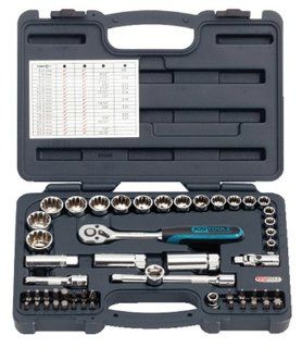 Ks Tools 53 Piece Combo Set No. 916.0653   Hand Tool Sets