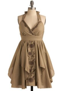 Ryu Roving the Olive Grove Dress  Mod Retro Vintage Dresses
