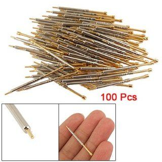 100pcs CSP 3H 36mm Length Spring Load Testing Probe Pin   Multi Testers