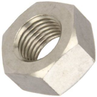 316 Stainless Steel Hex Nut, Plain Finish, DIN 934, Metric, M2.5 0.45 Thread Size, 5 mm Width Across Flats, 2 mm Thick (Pack of 50) Industrial & Scientific