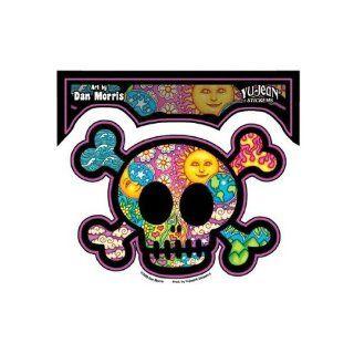 Dan Morris   Cute Skull and Crossbones   Sticker / Decal Automotive