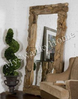 """Extra Large DRIFTWOOD 79"""" FULL LENGTH Wall Mirror Floor Leaner   Wall Mounted Mirrors"""