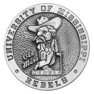 Mississippi Rebels   Ole Miss Belt Buckle   NCAA College Athletics  Bed In A Bag  Sports & Outdoors
