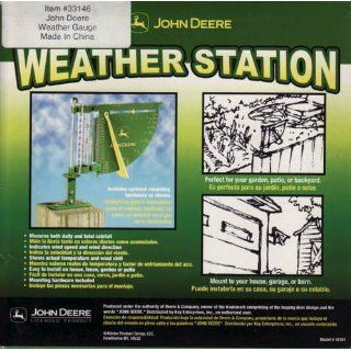 JOHN DEERE WEATHER STATION