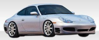 1997 2004 Porsche Boxster 986 Duraflex Turbo Look Body Kit   4 Piece   Includes Turbo Look Front Bumper Cover (107075) Maston Side Skirts Rocker Panels (104993) Maston Rear Bumper Cover (104994) Automotive