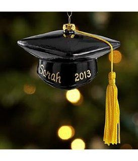 Shop Personalized Graduation Cap Ornament   Christmas Ornament at the  Home D�cor Store. Find the latest styles with the lowest prices from Personal Creations