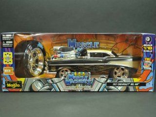 Maisto Muscle Machines Chevrolet Bel Air Remote Control Vehicle, 118 Scale (Colors May Vary) Toys & Games