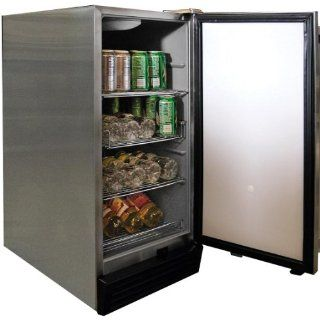 3.25 Cu. Ft. Built In Outdoor Refrigerator: Kitchen & Dining