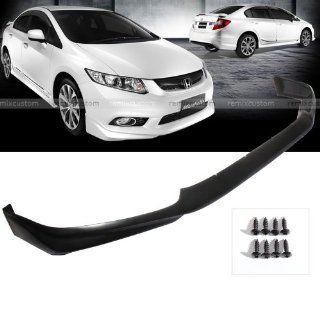 12 13 Honda Civic 4DR Sedan Modulo PU Front Body Bumper Lip Kit Spoiler Automotive
