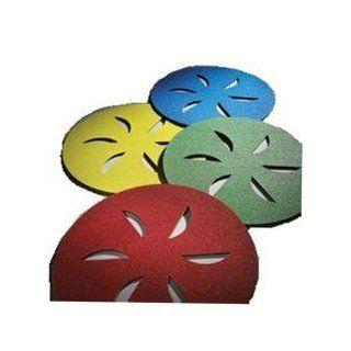 Norton Abrasives   Sand Dollar Pads Yellow   Fine   Sanding Blocks