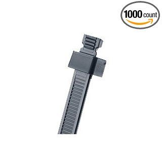 Panduit SST1M M0 BLACK STA STRAP CABLE TIE MIN CROSS SECTION W/R (package of 1000): Industrial & Scientific