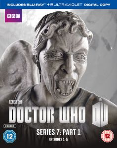 Doctor Who   Series 7 Part 1: Weeping Angels (Limited Edition)      Blu ray