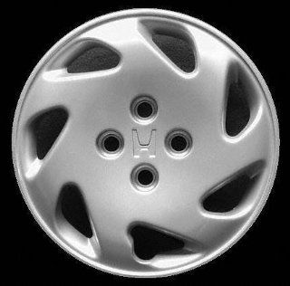 "94 97 HONDA CIVIC WHEEL COVER HUBCAP HUB CAP 14 INCH, 7 SPOKE BRIGHT SILVER 14"" inch Check out our aftermarket replacem (center not included) (1994 94 1995 95 1996 96 1997 97) H261223 FWC55029U20: Automotive"