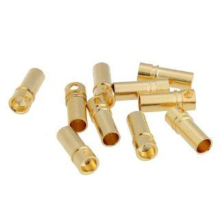 10 Pairs 3.5mm Bullet Banana Plug Connector Male Female for Motor ESC Battery Toys & Games