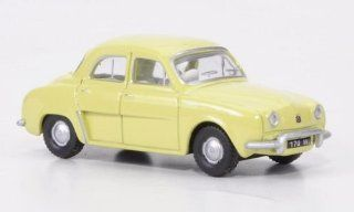 Renault Dauphine, yellow green, Model Car, Ready made, Oxford 1:76: Oxford: Toys & Games
