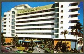 The Casablanca Hotel Miami Beach FL postcard 1958: Entertainment Collectibles