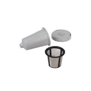 Keurig My K Cup Replacement Coffee Filter Set 3 pieces in sealed pouch fits B30 B31 B40 B50 B60 B66 B70 B77 B79 Cuisinart SS 700 Reusable Coffee Filters Kitchen & Dining