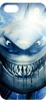 Bruce White Shark Finding Nemo Iphone 5 Custom Case: Cell Phones & Accessories