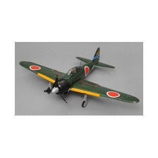 Airfield A6M Zero Almost Ready to Fly 6 Channel Warbird RC Plane 1450 Wingspan (Green)  Other Products