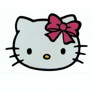 Hello Kitty Head Cute Sculpture Reflective Decorative Car Stickers for Car and Anything Sports & Outdoors