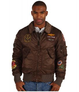 Alpha Industries CWU Pilot Mens Jacket (Brown)