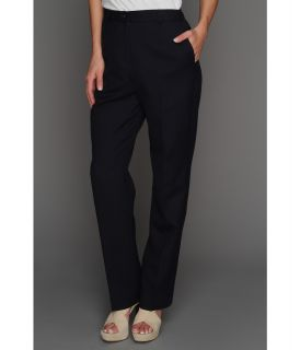 Pendleton Worsted Wool True Fit Trouser Womens Dress Pants (Blue)