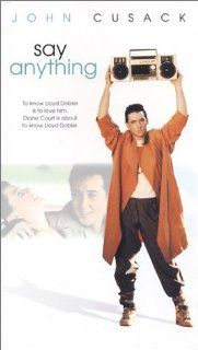 Say Anything [VHS]: John Cusack, Ione Skye, John Mahoney, Lili Taylor, Amy Brooks, Pamela Adlon, Jason Gould, Loren Dean, Glenn Walker Harris Jr., Charles Walker, Russel Lunday, Polly Platt, L�szl� Kov�cs, Cameron Crowe, Richard Marks, James L. Brooks, Pau