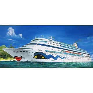 Aida Cruise Ship 1 1200 Revell Germany: Toys & Games