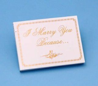 Beverly Clark 15F I Marry You Because Wedding Book   Wedding Albums