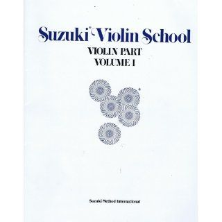 Suzuki Violin School: Violin Part, Vol. 1 (0724258014410): Alfred Publishing Staff: Books