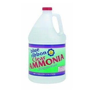 ROOTO CORPORATION Blue Ribbon Gallon Clear Ammonia contains 3% Ammonia   Household Polish