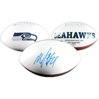 Marshawn Lynch Seattle Seahawks Autographed Logo Football