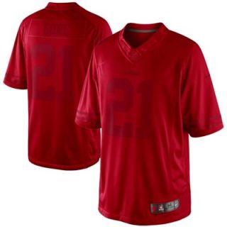 Nike Frank Gore San Francisco 49ers Drenched Limited Jersey   Scarlet