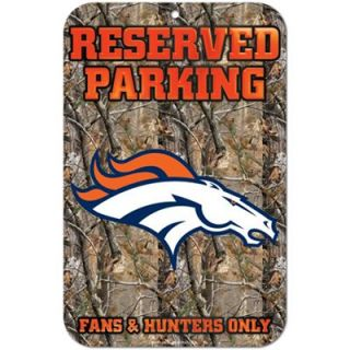 Denver Broncos Realtree Camo Fans & Hunters Only Parking Sign